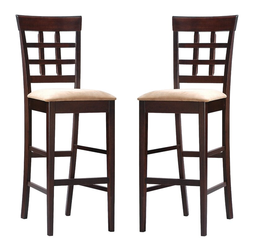 "Gutirrez 29"" Bar Stool (Set of 2)"