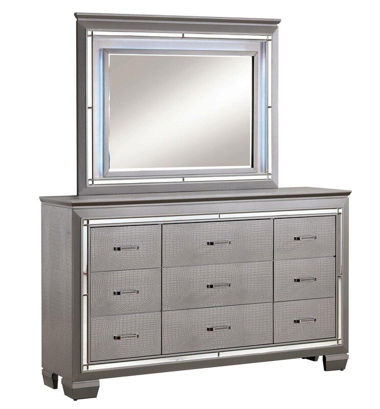 Sidney Rectangular Dresser Mirror