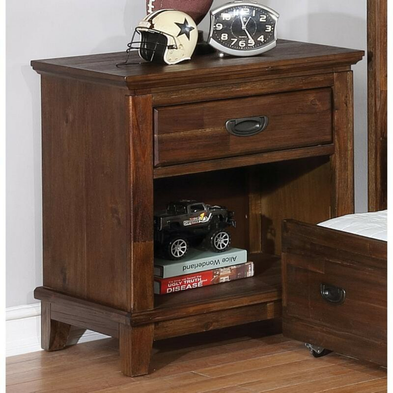 Scully 1 Drawer Nightstand