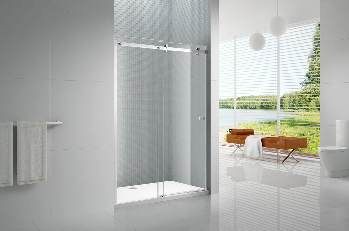 Primo Sliding Bypass Frameless Shower Door