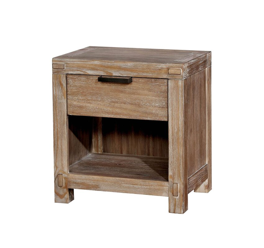Benally 1 Drawer Nightstand