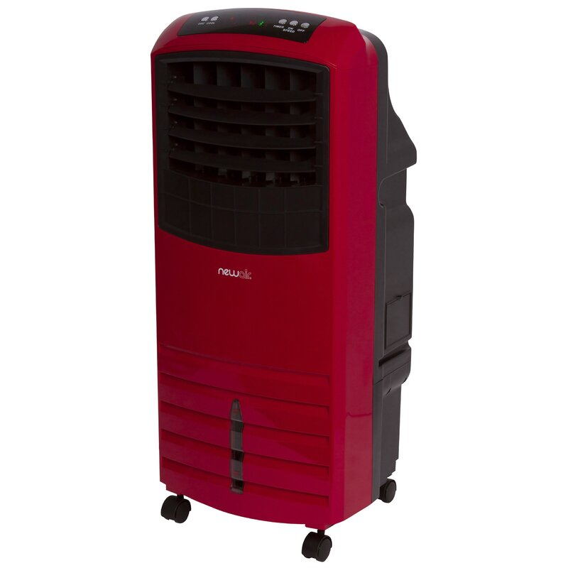 2-in-1 1000 CFM Portable Indoor & Outdoor - Compatible Evaporative Cooler