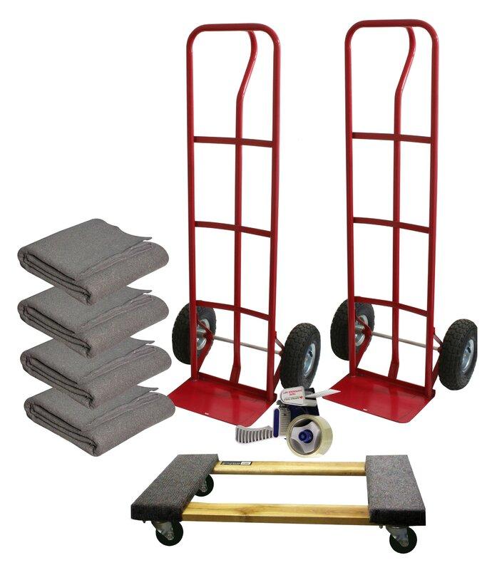 Buffalo Tools 600 lb. Capacity Platform Dolly and Furniture Dolly