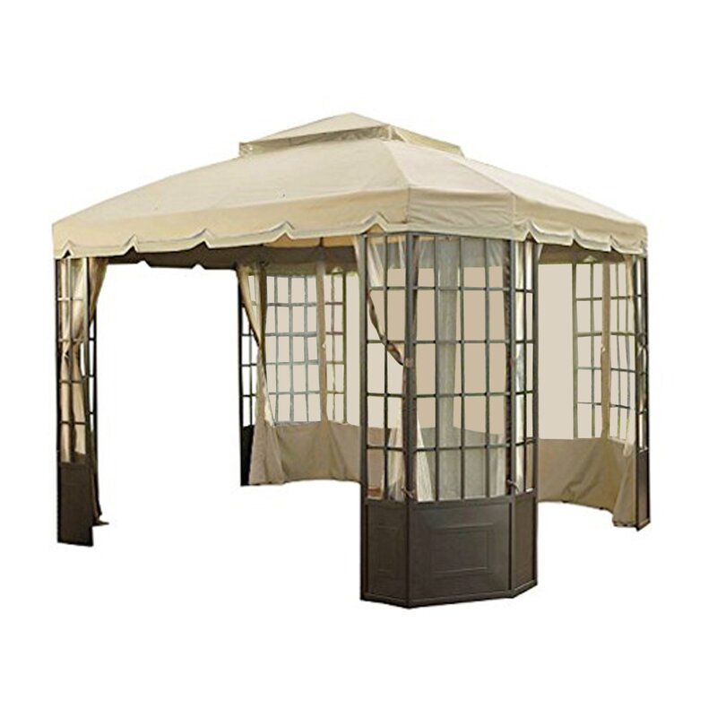 Bay Window Gazebo Replacement Canopy
