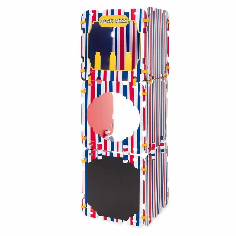 Carnival Arcade Fantasy Fort 1.83' W x 1.83' D Playhouse