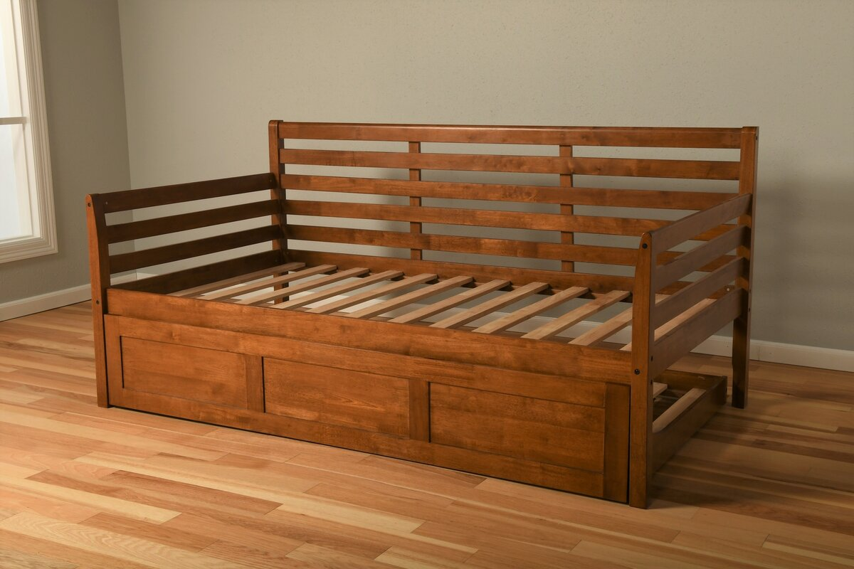 Franco Twin Daybed Frame with Trundle