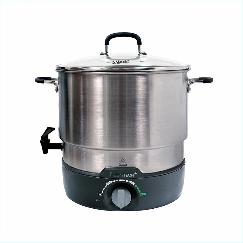Ball 21 Qt. Fresh Tech Electric Water Bath Canner Multi-Cooker