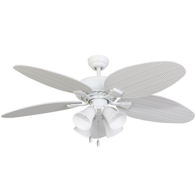 """52"""" Jaylee 4-Light 5-Blade Ceiling Fan"""