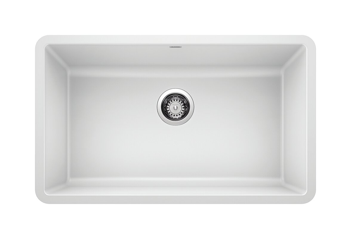 "Precis 30"" L x 18"" W Undermount Kitchen Sink"