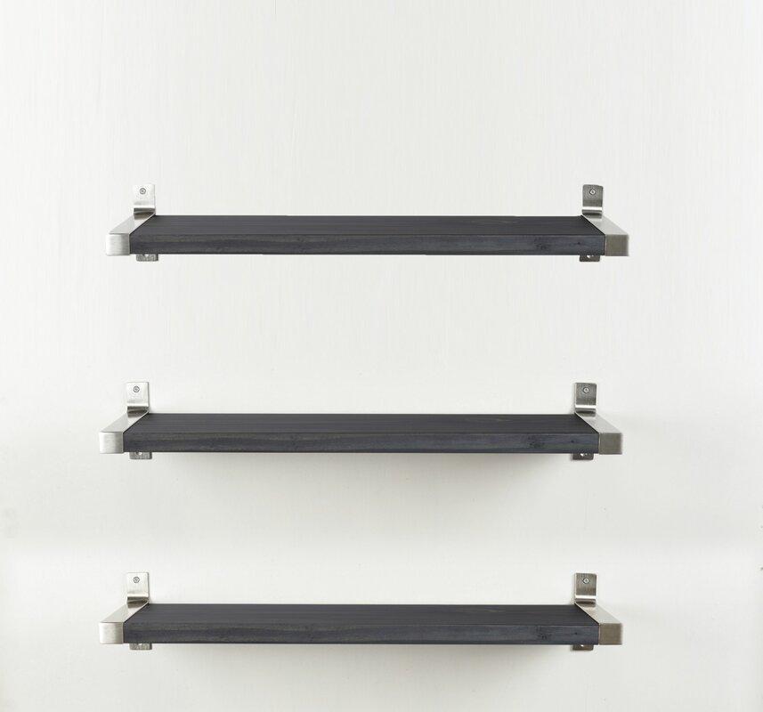 Alessio Wood Wall Shelf (Set of 3)