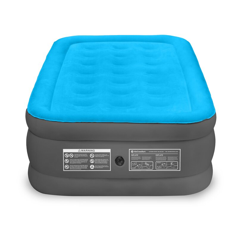 Camp Mate 17'' Air Mattress with Battery Operated Pump