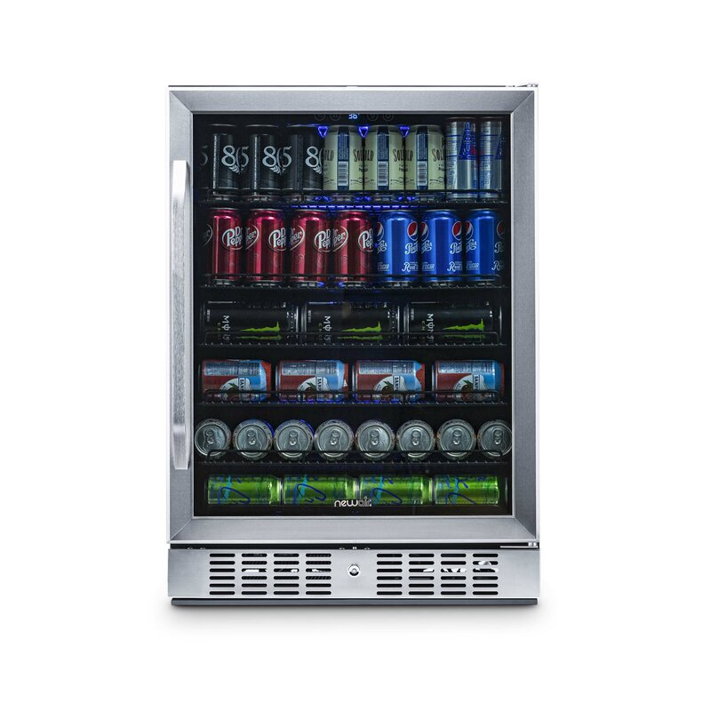 """177 Can 24"""" Convertible Beverage Refrigerator"""