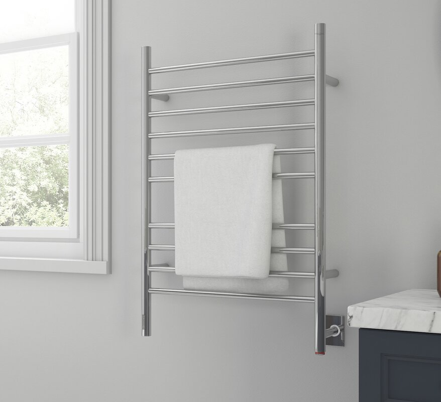 Argenta Wall Mounted Electric Towel Warmer with Integrated On-Board Timer