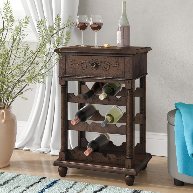 Sherwood 12 Bottle Floor Wine Rack