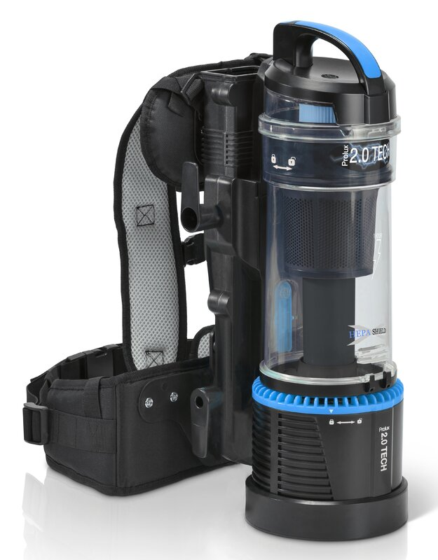 ProLux 2.0 Cordless Bagless Backpack Cleaner