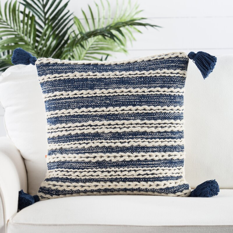 Omni Taviers Stripes Throw Pillow