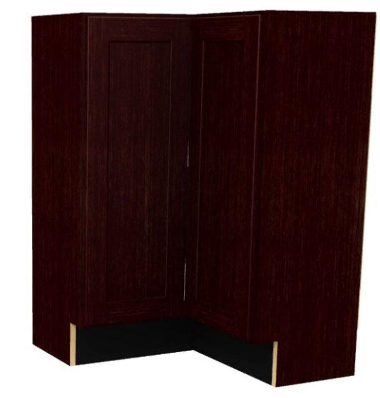 """Platte Base 34.5"""" H Corner Cabinet"""