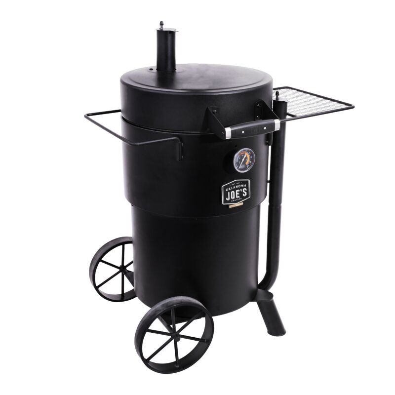 Bronco Drum Charccoal Smoker