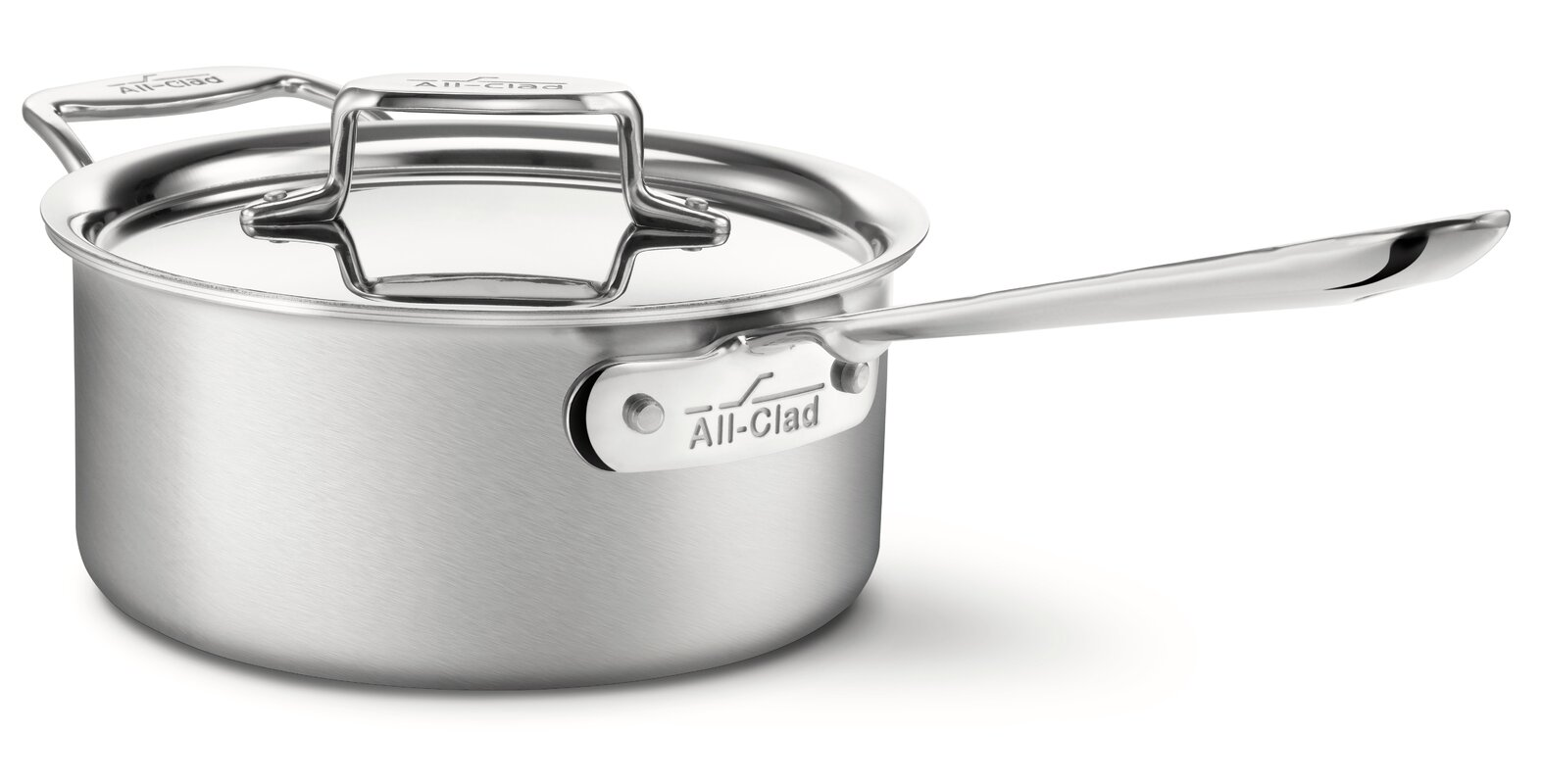 All-Clad D5 Stainless Steel Saucepan with Lid