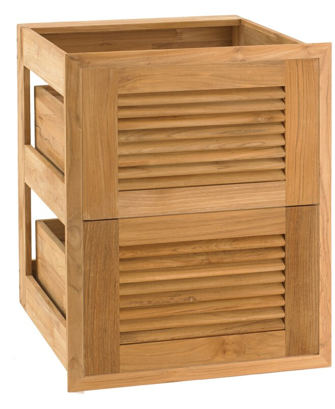 Louvered Double Drop-In Drawer