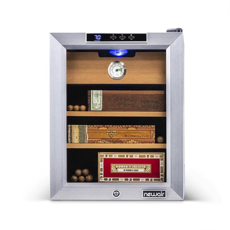 250 Count Electric Cigar Cooler and Humidor