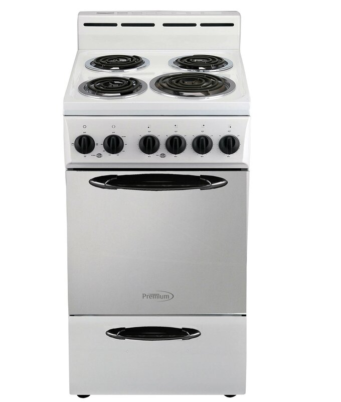 "20"" 2.6 cu ft. Freestanding Electric Range"