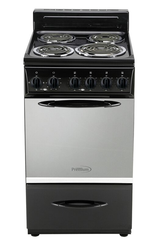 "19"" 2.6 cu ft. Freestanding Electric Range"