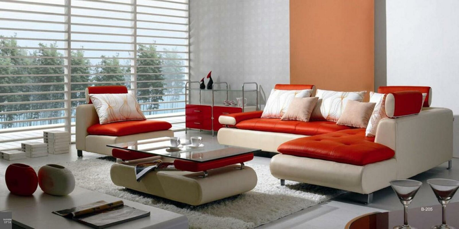 Corktown 4 Piece Living Room Set