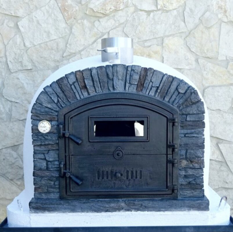 Ventura Stacked Stone Brick Pizza Oven