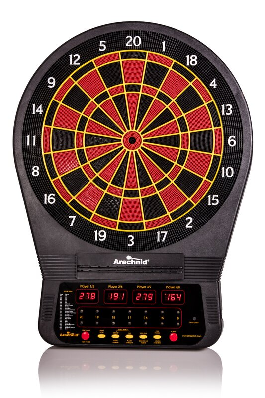 Cricket Pro Electronic Dart Board 650