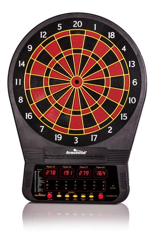 Cricket Pro Electronic Dart Board 650