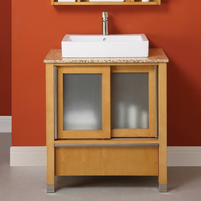 "Tyson 31"" Single Bathroom Vanity Set"
