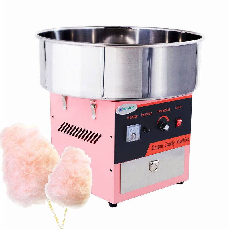 Tabletop Electric Commercial Cotton Candy Machine