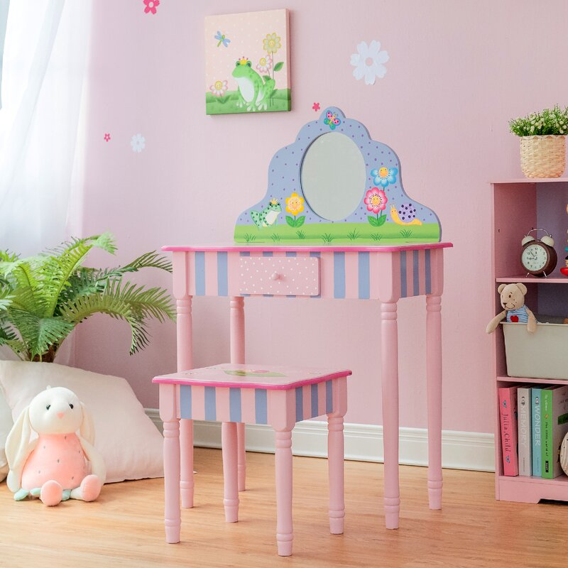 Magic Garden Play Vanity Set with Mirror