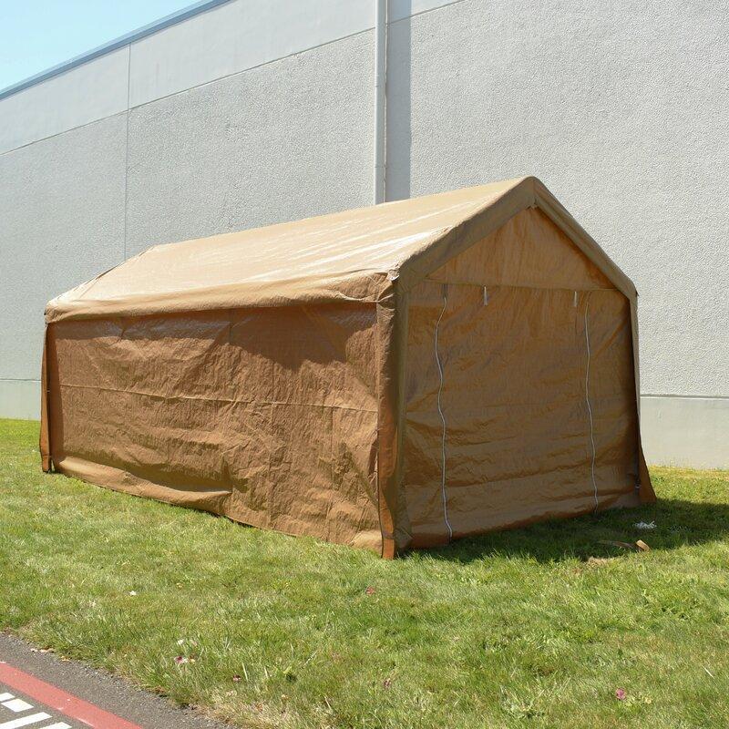 Heavy Duty Outdoor 10 Ft. W x 20 Ft. D Canopy