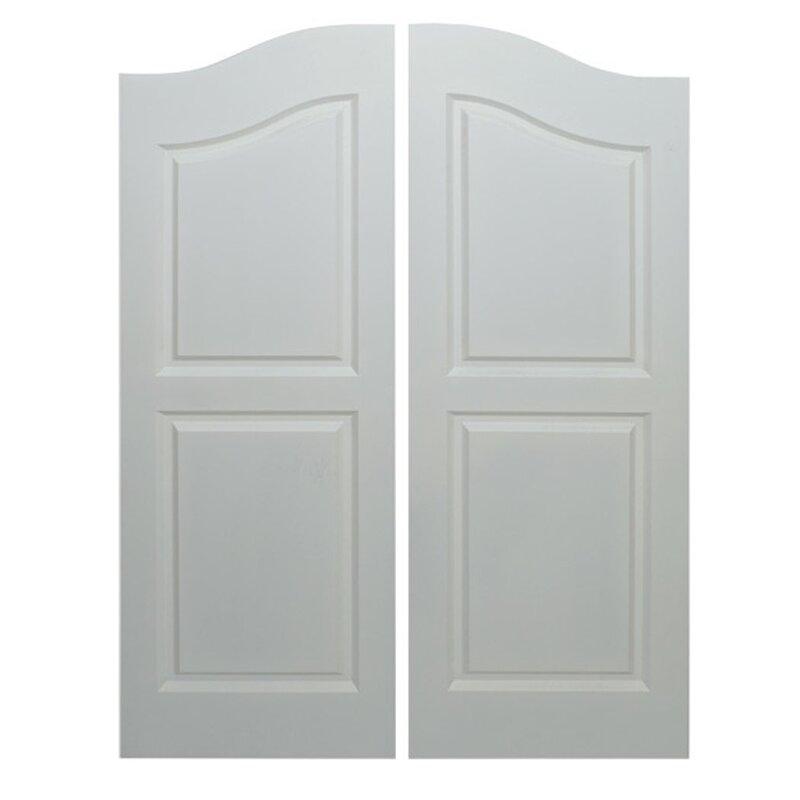 Paneled Manufactured Wood Primed Café Door