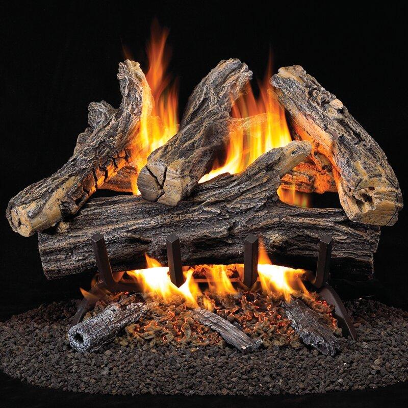 Heating Vent Free Natural Gas Log