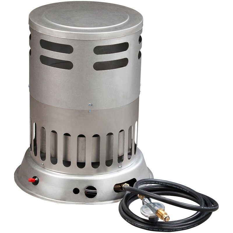Heating Forced Propane Convection Utility Heater