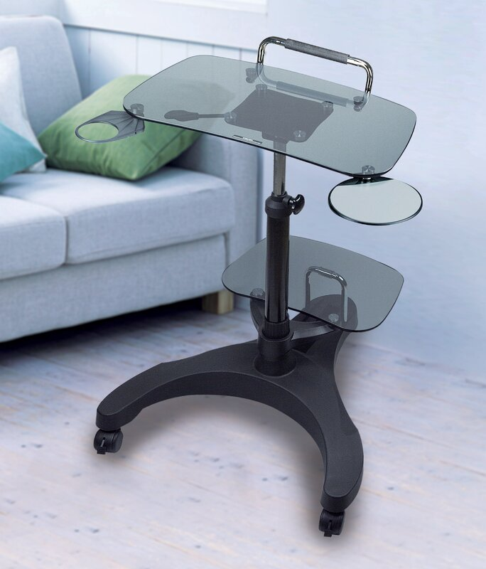 Adjustable Laptop/Computer Cart or Stand