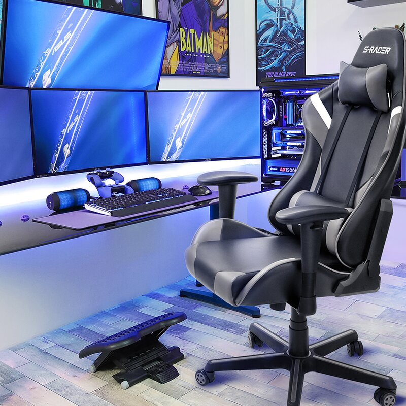 High Back PC & Racing Game Chair
