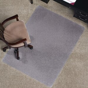 anchormat medium pile carpet beveled edge chair mat - Chair Mat