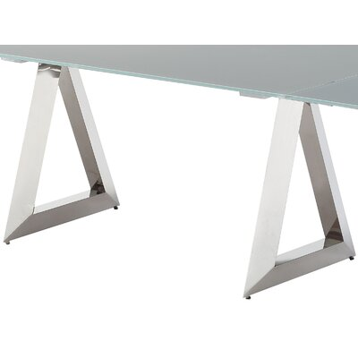 Incredible Pesaro Extendable Dining Table Bellini Modern Living Top Caraccident5 Cool Chair Designs And Ideas Caraccident5Info