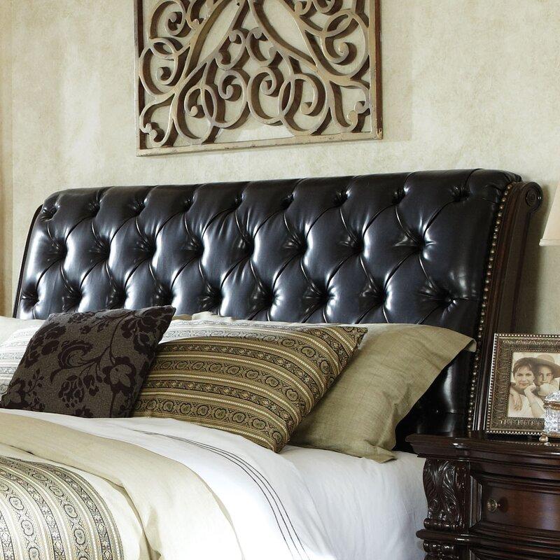 Churchill Upholstered Sleigh Headboard