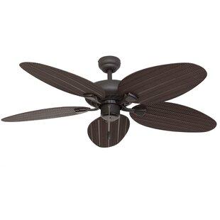 Palm leaf ceiling fan wayfair save aloadofball Image collections