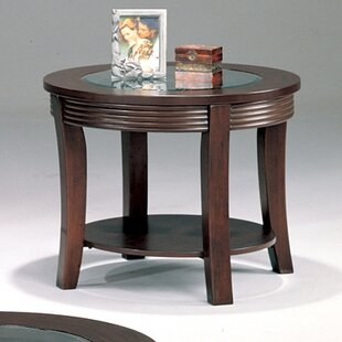 Blue Lake End Table by Wildon Home�