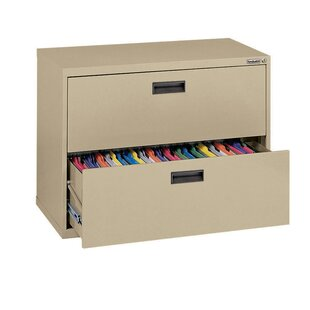 Sandusky Cabinets 400 Series 2-Drawer Lateral Filing Cabinet