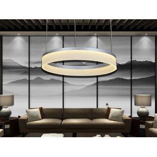 Hornersville 1-Light LED Geometric Chandelier by Orren Ellis