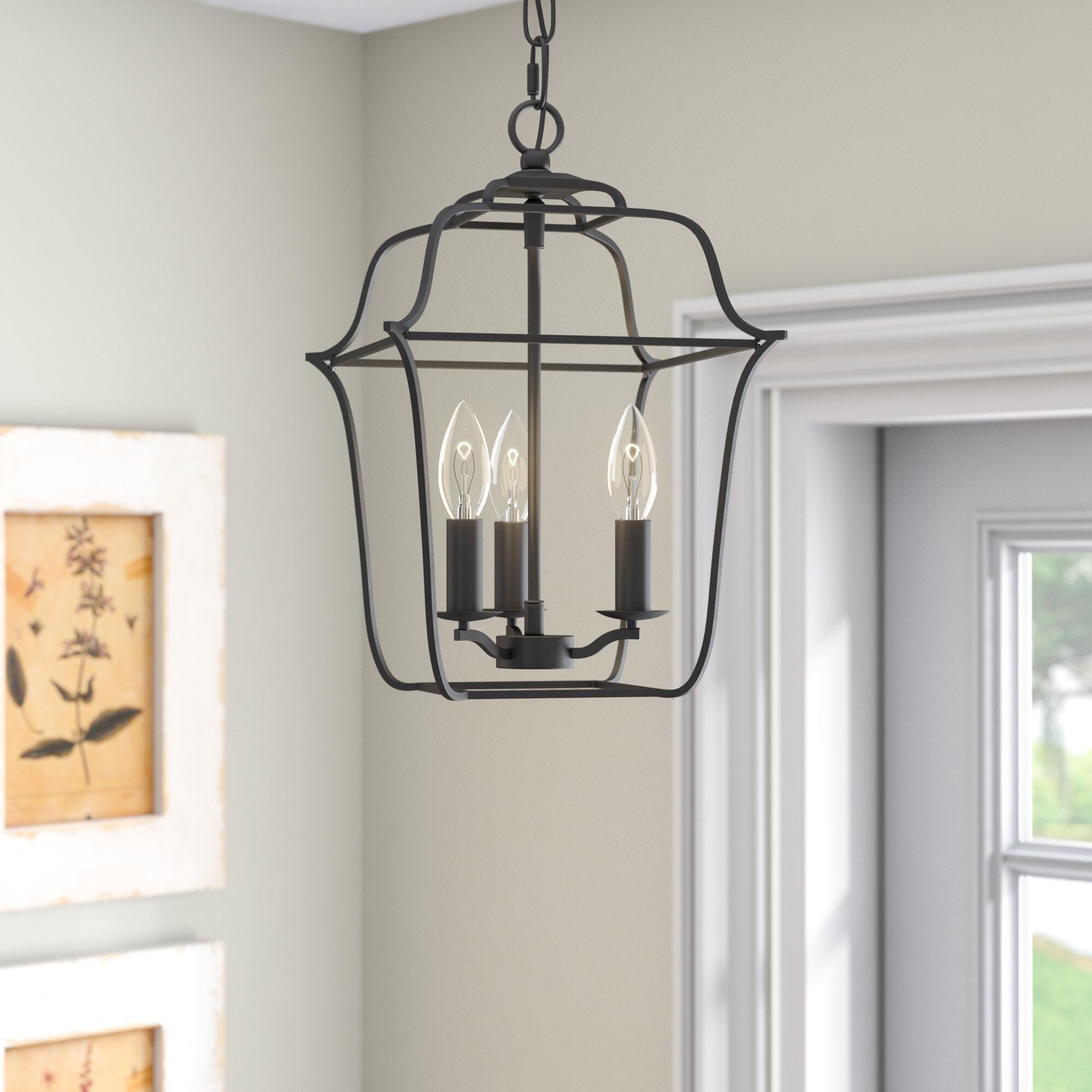 Laurel Foundry Modern Farmhouse Chloe Royal Ebony Gallery 3-Light ...
