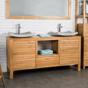 Gable 160mm Free-standing Double Vanity Unit By Beachcrest Home