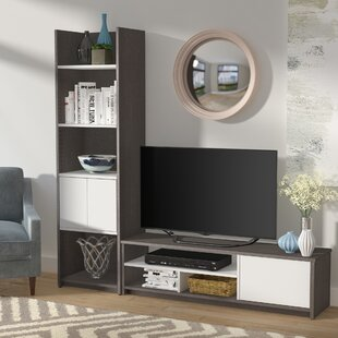 Inexpensive Frederick Entertainment Center for TVs up to 65 by Latitude Run Reviews (2019) & Buyer's Guide